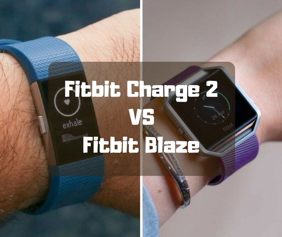 Fitbit Charge 2 vs Fitbit Blaze