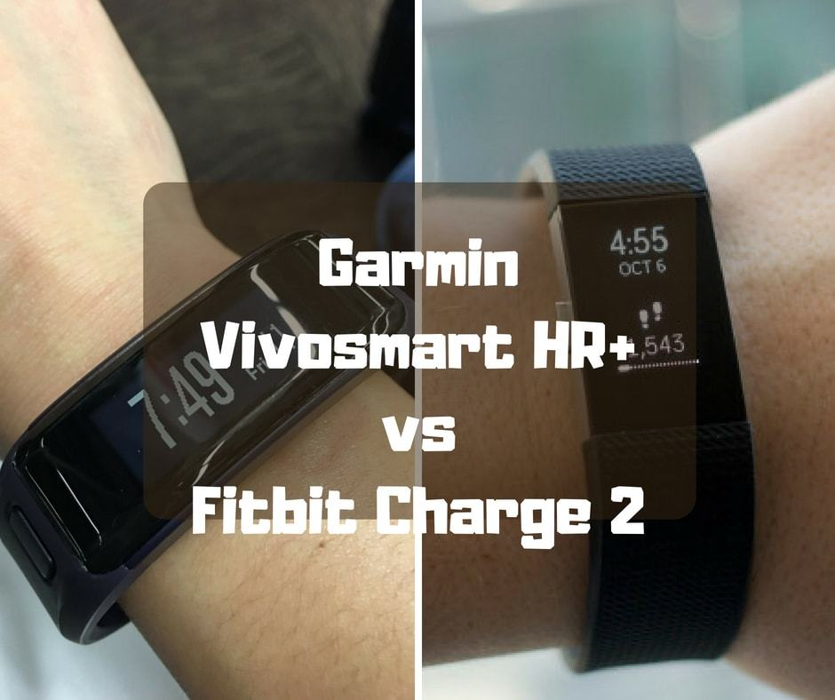 Garmin Vivosmart HR+ vs Fitbit Charge 2